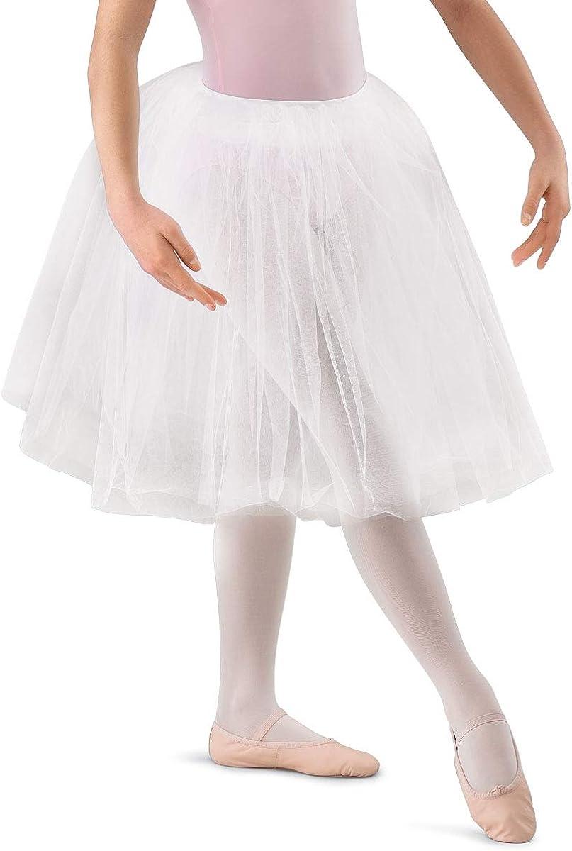 Balera Womens Popular product Romantic Length Max 88% OFF Tutu Tulle Girls Skirt Dance for