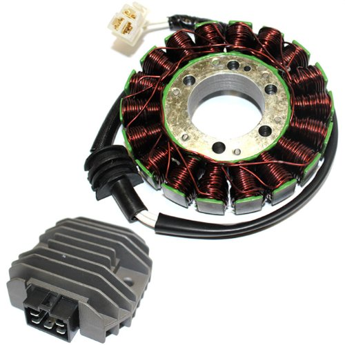 Caltric Stator & Regulator Rectifier Compatible with Yamaha R6 Yzfr6 Yzfr600 Yzf-R6 2003 2004 2005 New