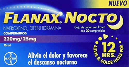 Flanax Tabletas Nocto, 20