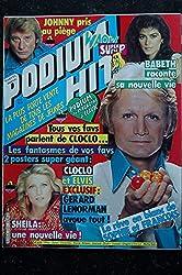 PODIUM HIT 121 MARS 1982 SHEILA CLAUDE FRANCOIS + POSTER RICHARD GOTAINER HERBERT LEONARD ABBA