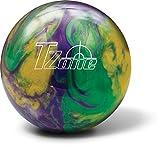 Boule de bowling de bowling Brunswick Zone T Cosmic–Mardi Gras