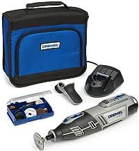 Advanced Dremel multiherramienta XS-8200 10,8 V inalámbrico + Grip para + 35 accesorios con 1 batería de Ion de litio [unidades 1] con Min 3 años Cleva garantía