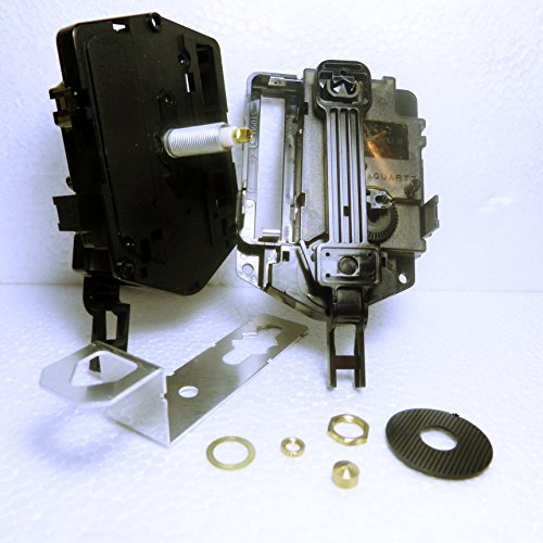Nuovo motore Seiko skp-180movimento al quarzo Orologio a pendolo meccanismo (totale lunghezza gambo: 26.5mm) Minute Hand Fixing Nut Closed
