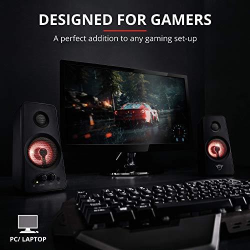 Trust GXT 608 2.0 Gaming Lautsprecherset (36W, LED Beleuchtung)