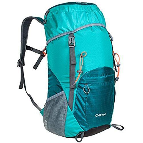 G4Free Mochila plegable de 35 l/40 l, ultraligera, resistente al agua, viajes, camping, senderismo, mochila para hombres y mujeres