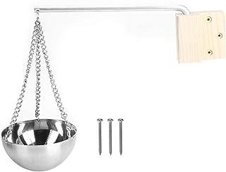 Duokon Accessoires durables de pièce de Sauna de Cuvette d'huile Essentielle de Tasse d'aroma de Sauna de Sauna d'acier In...