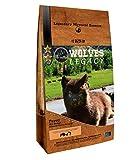 WOLVES LEGACY® Pienso para Cachorros Super Premium   Todas Las Razas pequeñas, Medianas y Grandes   con Salmón Fresco, Buey y Pollo (12kg)