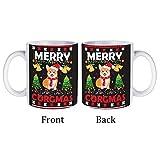 Taza blanca All Christmas-graphic-prints-set-t-260nw-1851869272 White-color5 divertida taza de café de cerámica de 325 ml