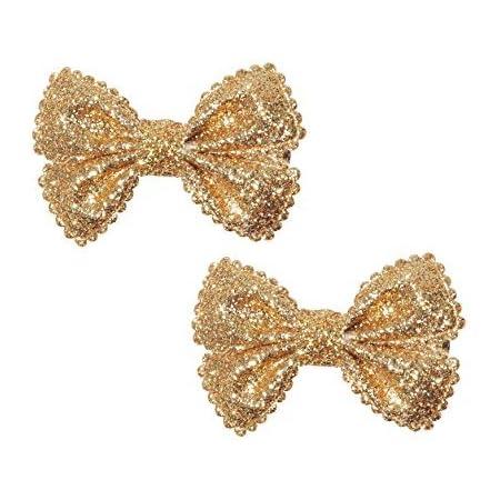 Gold Glitz Tinkerbell Bow