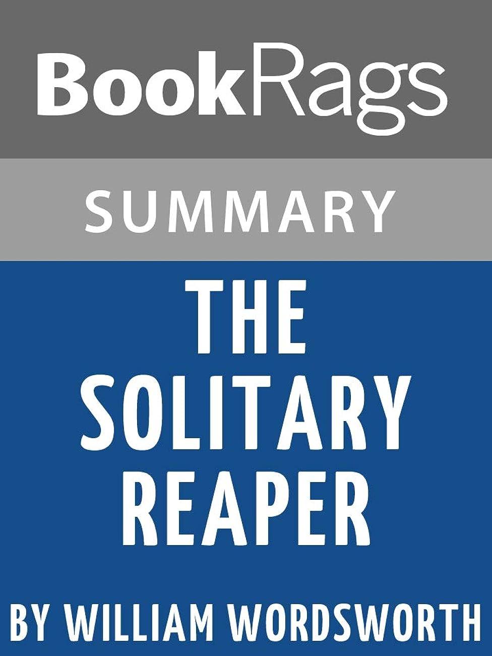 自動慣性集団Study Guide: The Solitary Reaper (English Edition)