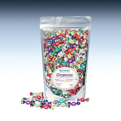 Glitterati ELEGANZA - Famous Miniature Hard Candies (400 Ct. Pouch) (1 pack)
