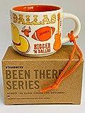 スターバックス ダラス・ベン・サーシリーズ グローブコレクションオーナメント セラミック デミタス マグ 2液量オンス