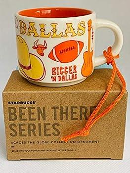 Starbucks DALLAS BEEN THERE SERIES ACROSS THE GLOBE COLLECTION ORNAMENT Ceramic Demitasse Mug 2 Fl Oz