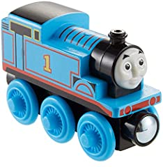 Thomas & Friends Wood toy train is compatible with redesigned Thomas & Friends Wood track and classic Thomas & Friends Wooden Railway track (sold separately and subject to availability) Made with sustainably sourced wood Premium, high quality constru...