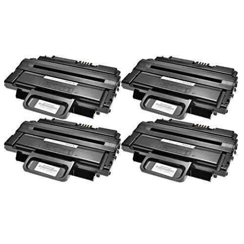 4 Toner kompatibel für Samsung MLTD-2092L für Samsung ML-2855ND SCX-2855 SCX-4825FN SCX-4824FN SCX-4828FN - MLT-D2092L/ELS - Schwarz je 5.000 Seiten
