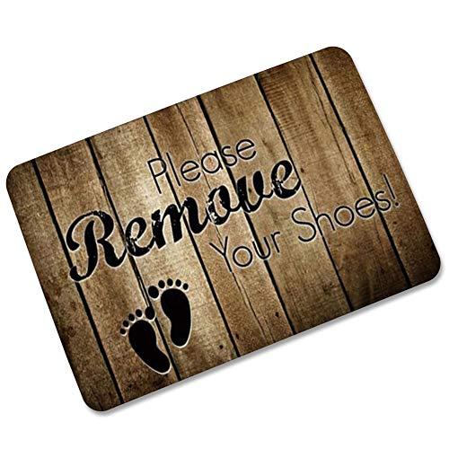Non -slip voetmat Indoor Outdoor Mat Of Voordeur Mats Entry Deken for Inside Outside Slim Profile Deurmat Tapijt Deurmat Buiten Extra Duurzaam (Color : A, Size : 45 * 75CM)