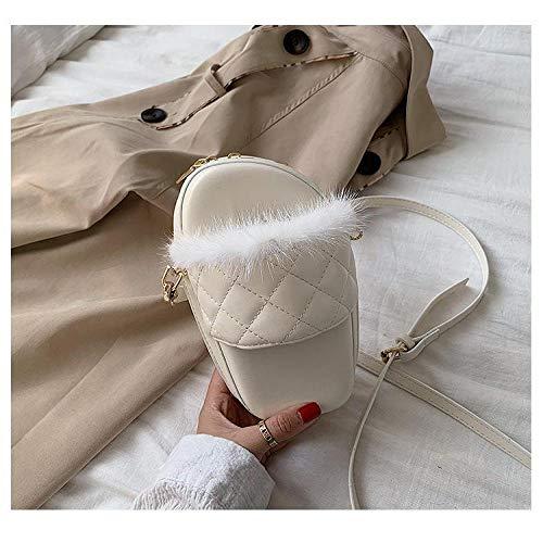 Frauentasche Lady Süße Hausschuhe Tasche, Mode Messenger Umhängetasche, Lady Kleine Umhängetasche, Rot Beige
