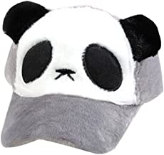 Lovely Kid's Thicken Hat Cap Baseball Hat Fashion Cap Panda Style Grey