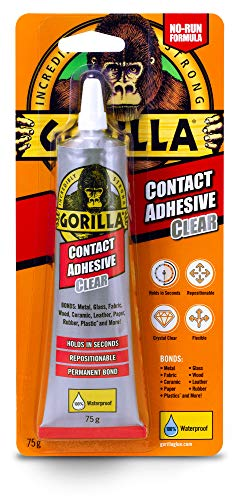Gorilla Glue Contact Adhesive Clear 75g