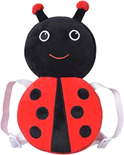 """Baby Head Protector Cushion - Head Protection Safety Pads with Flexible Strap for Infant/Toddler Walkers - Prevent Injuries (Red Ladybug 12""""(4-24 Months))"""