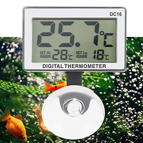 Termómetro de acuario Termómetro electrónico para acuario 34g