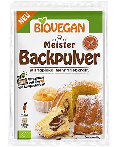 Lievito Secco Senza Glutine Bio Per Dolci 'MASTER' Con Tapioca Superior Motor Force Pack Di 3 x 17g | Lievito In Polvere Bio per Dolci Universale Senza Amido Di Mais Senza Fosfati