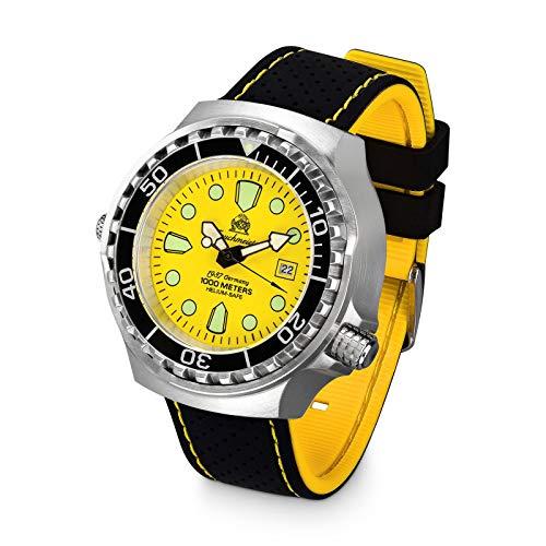 Tauchmeister Reloj de buceo profesional T0039SE - 100 ATM - 46 mm