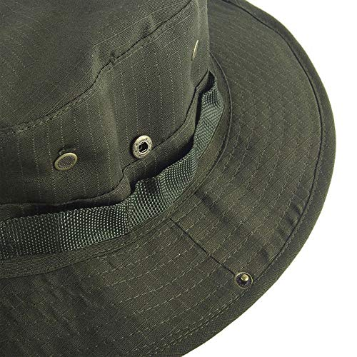 Aftermarket Tactical Head Wear/Boonie Hat Cap for Wargame,Sports,Fishing and Other Outdoor Activties (Olive Drab)