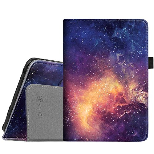 Fintie Folio Case for Kindle Fire HD 7 (2012 Old Model) - Slim Fit Leather Cover with Auto Sleep/Wake Feature (Will only fit Amazon Kindle Fire HD 7, Previous Generation - 2nd), Galaxy