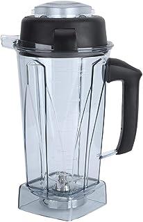 Conteneur de mélangeur transparent de 64 oz, kit d'accessoires de remplacement de lame de couvercle de tasse, de qualité p...