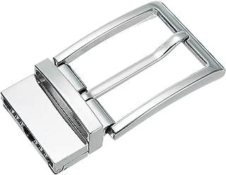 Men Belt Head Belt Pin Buckle Metal Leisure Belt Head Business Waist Belt Accessories