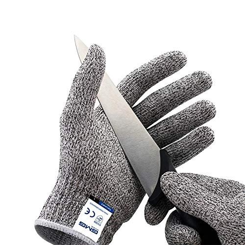 HMerch™ Anti snijhandschoenen - Keuken handschoenen - Snijbestendige handschoenen – Klussen - Tuin - Snijwerende handschoenen - Veiligheidshandschoenen - Snijbestendig - Cut restitant - Snijbeschermingshandschoenen - Snijden