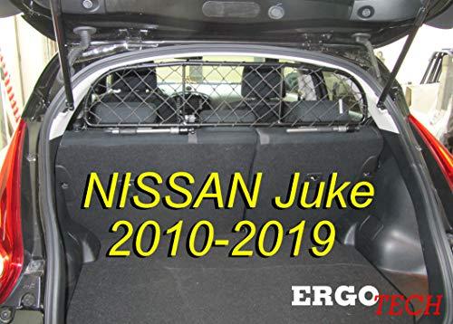 ERGOTECH Trennnetz Trenngitter Hundenetz Hundegitter für Nissan Juke BJ 2010-2019