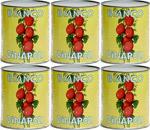 Bianco DiNapoli Organic Whole Peeled Tomatoes, 28 oz, 6 pack