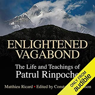 Enlightened Vagabond audiobook cover art