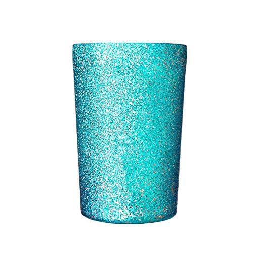 Vakuum Weinglas Double-Layer-High-End-Licht Luxuxgeschenk Cup High-End-Isolierung Reintitan Vacuum Wide Mouth Bierbecher 270ml Vakuumisolierte Trinkbecher (Farbe : Grün, Size : 270ml)