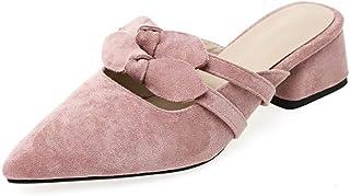 BalaMasa Womens AFL00396 Pu Block Heels