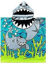 Toalla Playa de Niño Poncho Toallas Microfibra de Baño Pareo Piscina para Niña 3-8 años