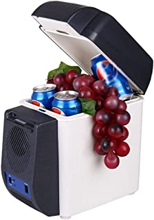 WEI-LUONG mini Car electronic refrigerator 7L electronic heating and cool box portable small refrigerator DC12v for road t...