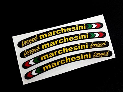 Ecoshirt D7-AVNT-I4TV Pegatinas Marchesini Llanta Wheels Ref:Eco10 Stickers Aufkleber Decals Adesivi, Colores En La Imagen y Colors In The Image