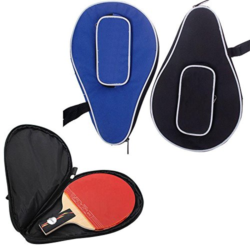 Best Review Of Niome Table Tennis Racket Bag Waterproof Nylon Durable Ping-Pong Ball Paddle Bat Case Holder