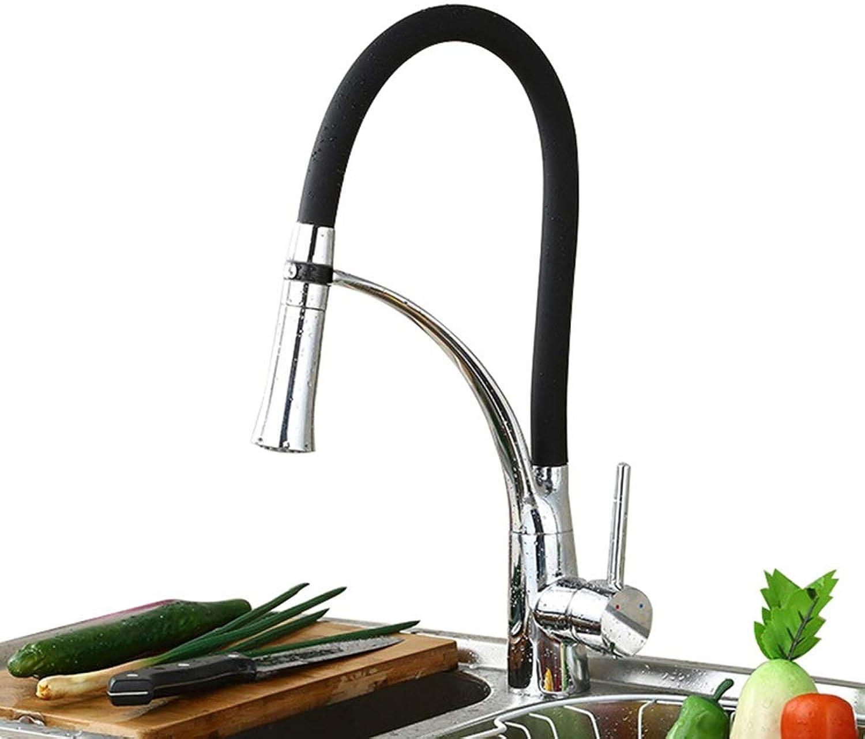 BEI-YI Wasserhahn - Spültischarmatur Wasserhahn Single-Link Dehnbarer Wasserhahn Kupfer Wasserhahn -58 Wasserhahn