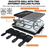 Zoom IMG-1 raclette grill con pietra naturale