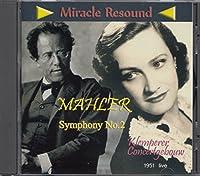 交響曲第2番 クレンペラー&フェリアー 奇跡の再生音1951年ライブ