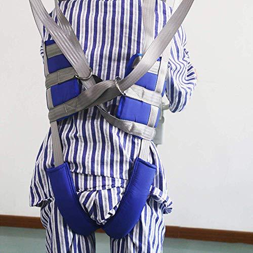 51AwXIsTxqL - ZIHAOH Cabestrillo De Elevación De Paciente De Cuerpo Completo, Cinturón para Caminar Asistido por El Paciente, Las Piernas Se Pueden Separar, Seguridad De Enfermería
