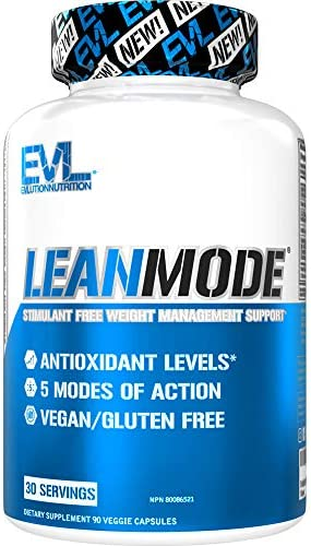 Evlution Nutrition Lean Mode Complete Stimulant Free Weight Loss Support and Diet System with product image