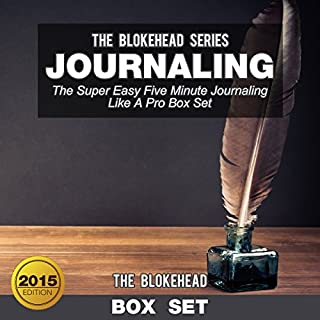 Journaling: The Super Easy Five Minute Journaling Like a Pro (Box Set) audiobook cover art