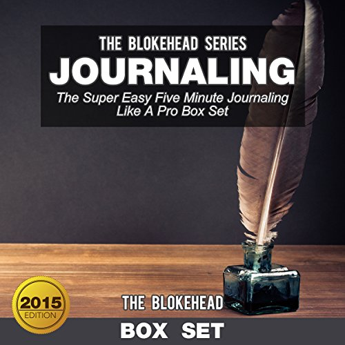 Journaling: The Super Easy Five Minute Journaling Like a Pro (Box Set) cover art