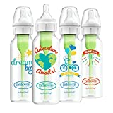 Dr. Brown's Options + Baby Bottles, 8 Ounce, Narrow Bottle,Dream/Adventure, 4 Count