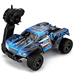 Rabing Remote Control Terrain RC Cars Vehicle 1: 18 Scale 2.4Ghz 20km/H RC Car High Speed Off-Road Truck, with...
